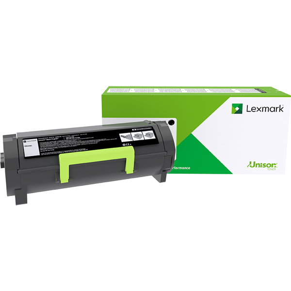 Lexmark Toner 602H Corporate, 10K - for MX310, MX410, MX510, MX511, MX611 Series