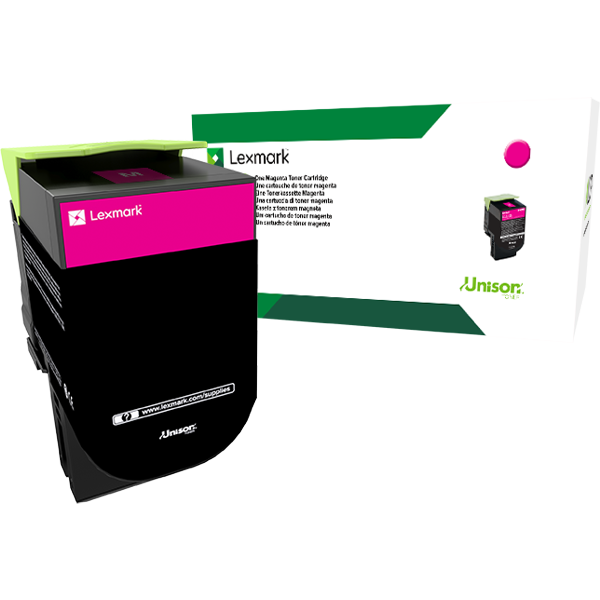 Lexmark Toner - Magenta, 2.3K - for CS317, CS417, CS517, CX317, CX417, CX517 Series