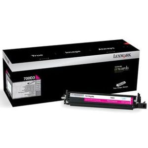 Lexmark Developer Unit 700D3 - Magenta, 40K - for CS31x, CS41x, CS51x, CX31x, CX41x, CX51x Series