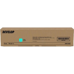 Develop Toner TN-221C - Cyan, 21K - for ineo+ 227