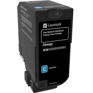 Lexmark Toner 742 - Cyan, 3K - for CS720, CX725 Series (originaalkarbita)